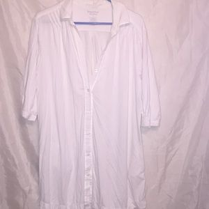 SimplyVera 🌟 t-shirt dress with pockets Sz L 💐